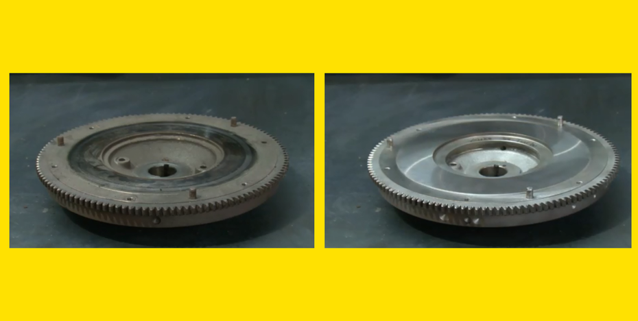 flywheel before and after